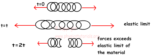 how to find force from elastic constant